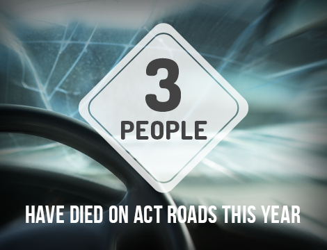 Three people have died on ACT roads