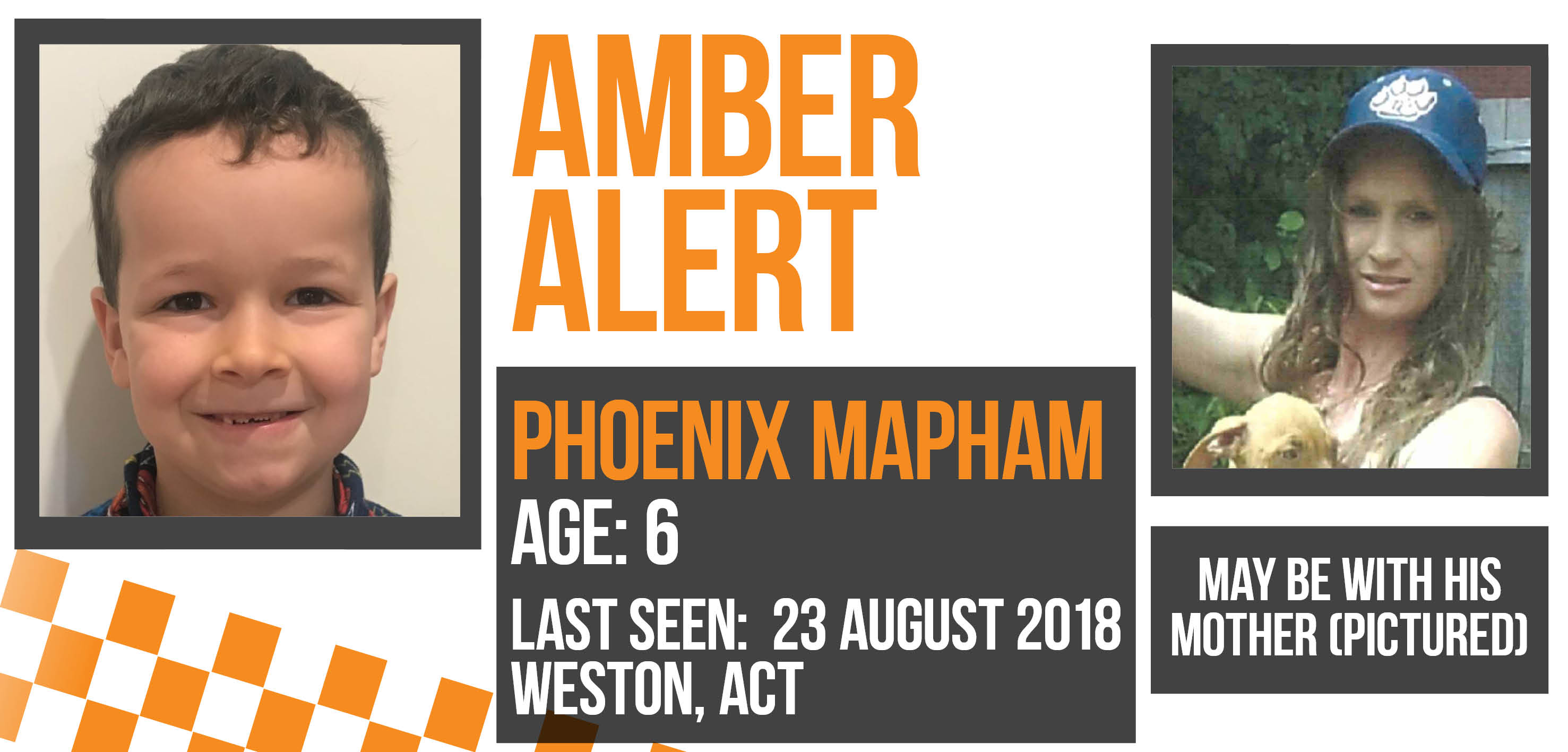 UPDATE Have you seen Phoenix? | ACT Policing Online News