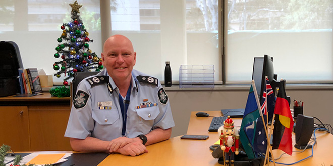 Chief Police Officer for the ACT Ray Johnson