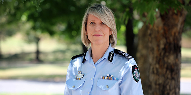 Image of Chief Police Officer for the ACT