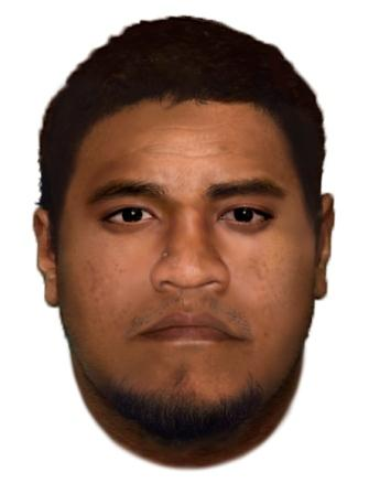 Facefit of armed robbery offender