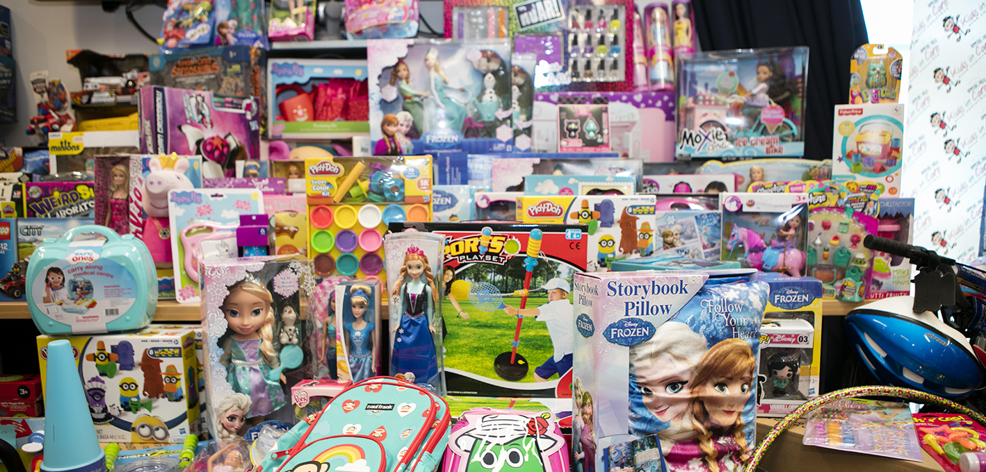 Toys for kids in care