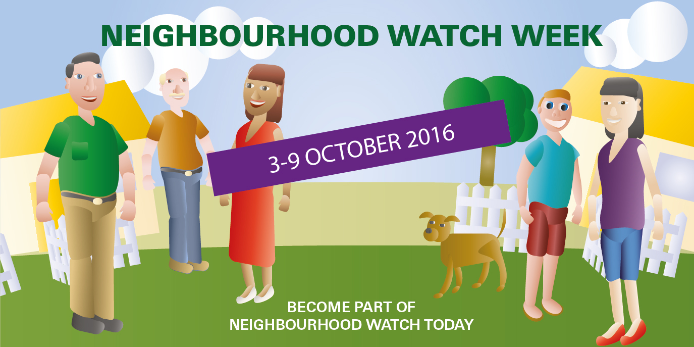 Community members gather for Neighbourhood Watch Week 3-9 October 2016