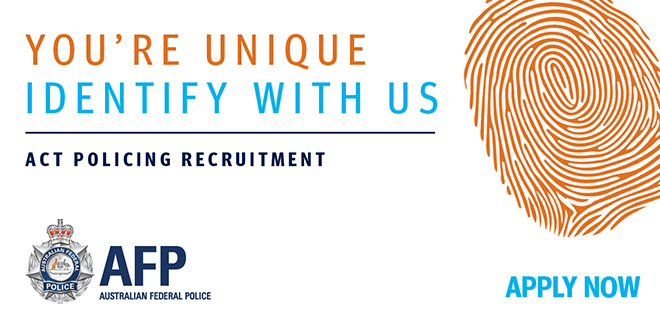 ACT Policing recruiting now