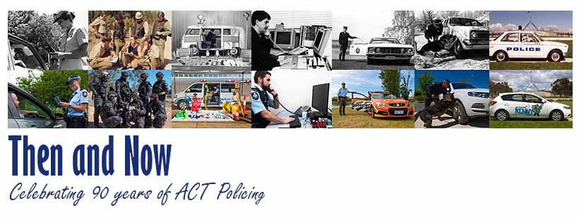 90 years of ACT Policing