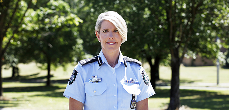 Chief Police Officer for the ACT Justine Saunders