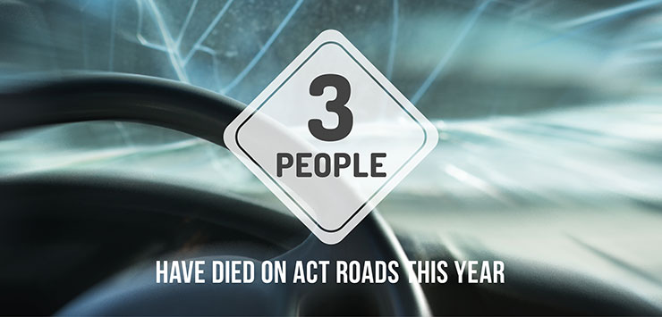 Three people have died on our roads