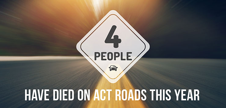 Four people have died on our roads