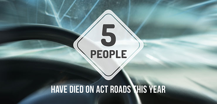 Five people have died on our roads