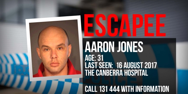 Police are searching for Aaron Jones
