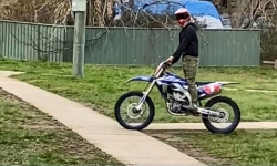 Police issue warning over illegal trail bike riding