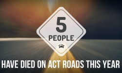 Fifth fatality on ACT roads in 2019