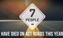 Seven people have died on ACT roads this year