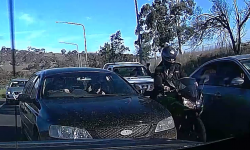 ACT Policing is seeking the identity of two motorbike riders involved in a traffic incident on Tuesday, 30 October 2018.