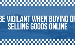 ACT Policing would like to remind the Canberra community to be vigilant when buying or selling valuable goods, particularly via online marketplaces.
