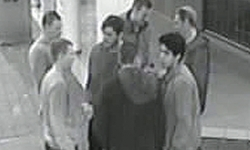 Group of males who may be able to assist police with their investigations