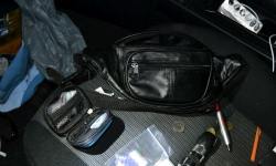 The contents of the car located