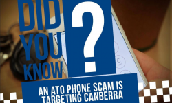 ATO phone scam is targeting canberra