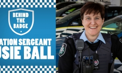 Officer in Charge Traffic Operations Susie Ball