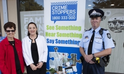 Crime Stoppers campaign launch