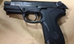 Firearm seized in Dickson car search