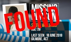 Scott has been found safe and well.