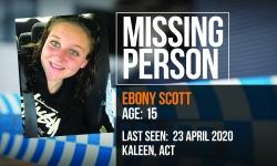 Missing Person Ebony Scott