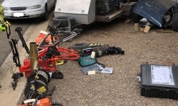 Police seize significant amount of stolen property in Giralang warrant activity