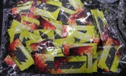 285 1.5gram bags of 'Rush' brand packets of synthetic cannabinoids