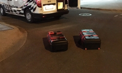 Two suspicious packages located in car park near Hobart Place in the City