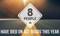 Eight people have died on our roads