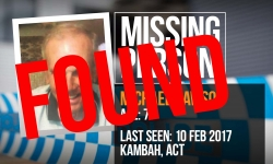 Missing Person Michael Dawson FOUND