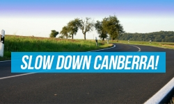 slow down canberra