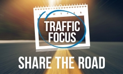 Share the road slow to 40kms - October Traffic Focus