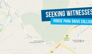 Witnesses sought to collision on Horse Park Drive