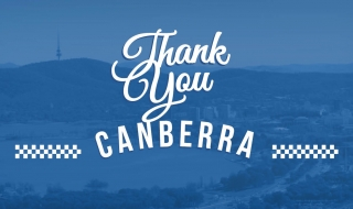 Thank you Canberra